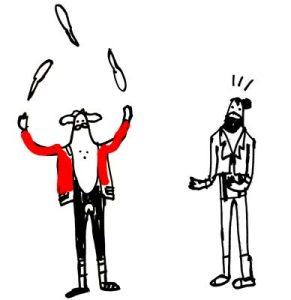 Circo Pacco Illustrazione